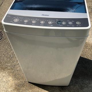 ★美品★風乾燥 2017年製 5.5kg 全自動洗濯機 ハ…