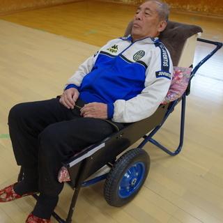 介護運搬用二輪車 災害時の介護家族の移動用に。多目的に活用できます!