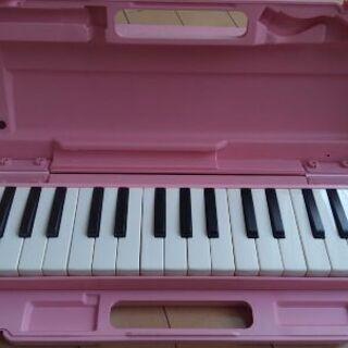 ヤマハ鍵盤ハーモニカ(ピンク)