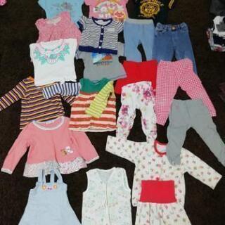女児用 90サイズ詰め合わせ 春夏用→パジャマ水着付