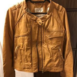 羊革 レザージャケット ライダースジャケット