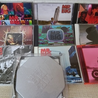 MR.BIGのCD 10枚まとめて