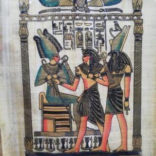 エジプト パピルス 絵