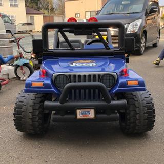 12v乗用カー 2人乗り可 Jeep