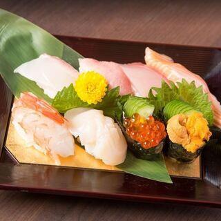旬を映した本格お寿司えをリーズナブルに【二升-masu masu-】