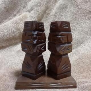 昭和50年物 アイヌ民族工芸品 ミニサイズ
