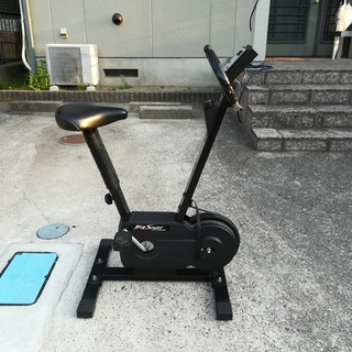 【取りに来ていただける方限定】室内用フィットネスバイク運動用自転車の画像