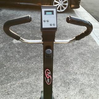 【取りに来ていただける方限定】室内用フィットネスバイク運動用自転車 - 春日井市
