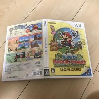 売約済 Wiiゲームソフト 値下げ中 スーパーペーパーマリオ