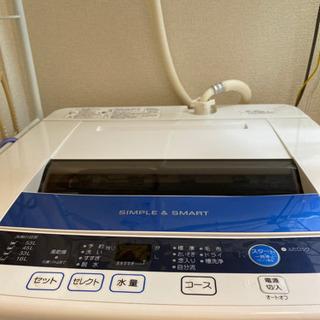 【売却先決定済み】洗濯機 6kg AQUA