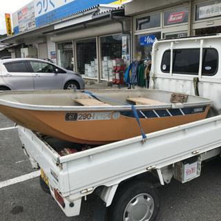 FRP ボート ヤマハ 小型ボート 2馬力ボート