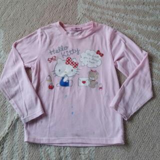 ハローキティ 長袖Tシャツ 女児130