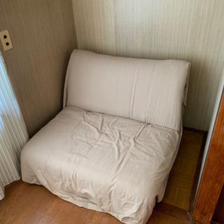 簡単に組み立てられるソファベッド