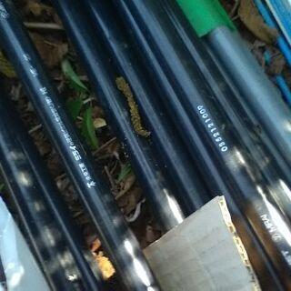 ビニール電線管 ve-22k 黒 一本あたり 計9本