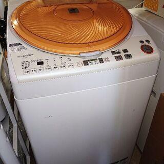 🈹🛒人気のオレンジ再入荷❗SHARPイオン乾燥機付き洗濯機 187