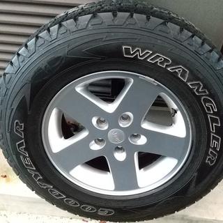 Jeep ラングラー用 タイヤホイール4本セット