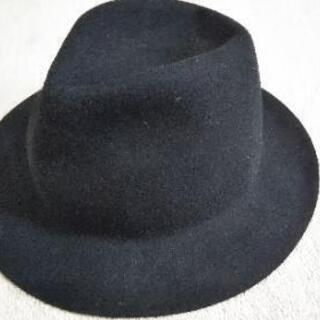 (値下げ中)帽子(ハット 黒)