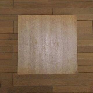 (木製天板&アイアン脚)正方形のセンターテーブル - 大阪市
