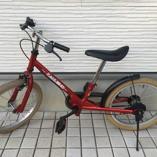 ※商談中 子供用自転車【ラクショーライダー】18インチ(補助輪お...