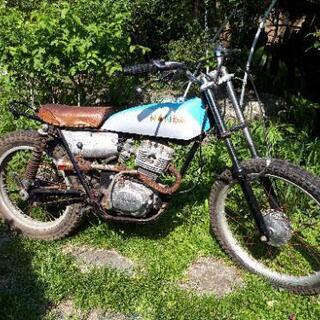 値下げです!イーハトーブ125 ジャンク書有 交換可能 バイク