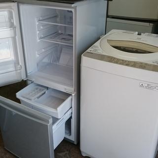 只今。商談中!!3点おすすめ商品!!シャープSJ-D14B-S 2ドア冷凍冷蔵庫 137L つけかえどっちもドア 2016年製・東芝AW-5G3 全自動洗濯機 5.0K 2016年製・シャープRE-180KS 電子レンジオーブンレンジ 2016年製の画像