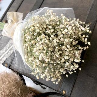 受注制作 かすみ草の可憐ブーケ