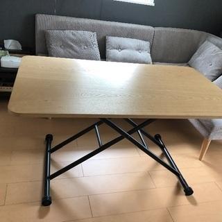 ガス圧昇降式テーブル