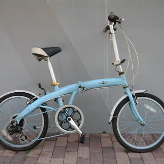 MINI純正  フォールディングバイク ミニベロ 折り畳み自転車...