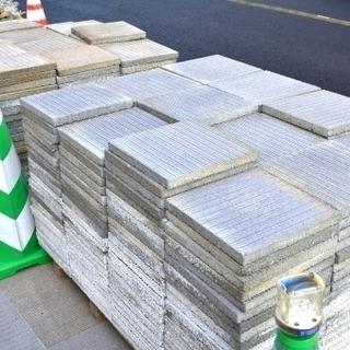 庭の不用品/不要物 処分 ブロック レンガ 平板 砂利  コンク...