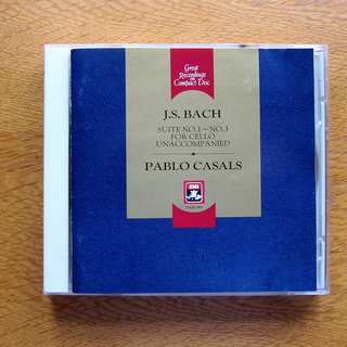 名盤!パブロ・カザルス:バッハ無伴奏チェロ組曲 第1番~第3番