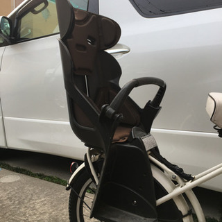 自転車子供乗せの画像