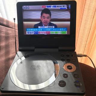 東芝製‼️バッテリー内蔵‼️録画ok ポータブル DVDプレーヤ...