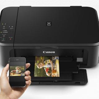 <話し中>直接引き渡し優先★プリンター インクジェット複合機 Canon PIXUS MG3630 ブラックの画像
