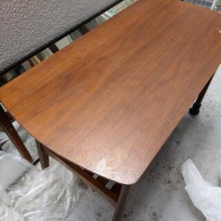 【交渉中】ローテーブル 二段