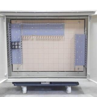 鍵付き配電盤ボックス 日東工業 プラボックス POX-88