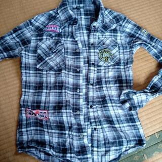 チェックシャツ メンズ M