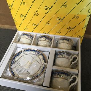 【未使用】コーヒー碗皿セット MADE IN ITALY