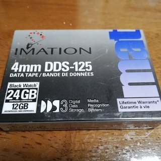 imation DDS-125S 4mm データテープ