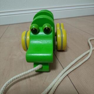 可愛い青虫とワニの知育玩具セット - 売ります・あげます