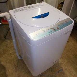 お届け可 イオンコート 送風乾燥 ES-GE55L シャープ 洗濯機