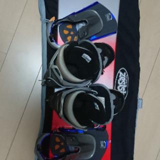 【値下げ】スノーボード、バインディング、ブーツ