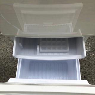 SHARP シャープ 冷蔵庫  SJ-C14D-W 2ドア つけかえどっちもドア - 売ります・あげます