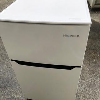 【訳あり格安】ハイセンス 冷凍冷蔵庫 93L ホワイト HR-B95A