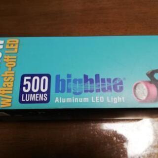 水中ライト bigblue 3x5W LED 新品