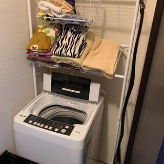 【取引中】洗濯機ラック