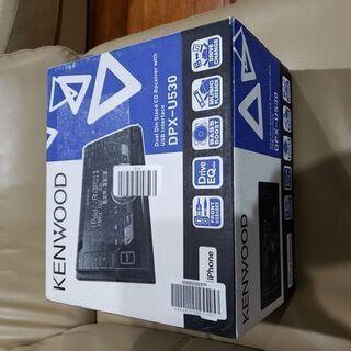 ケンウッド CD/USB/iPodレシーバー 新品未使用