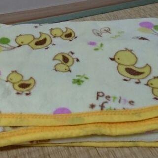 ベビー毛布 黄色 85*115センチ