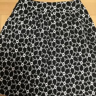 Otto 黒刺繍スカート