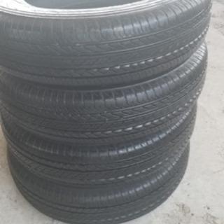 バリ山175/80/15 Bridgestone タイヤ交換工賃...