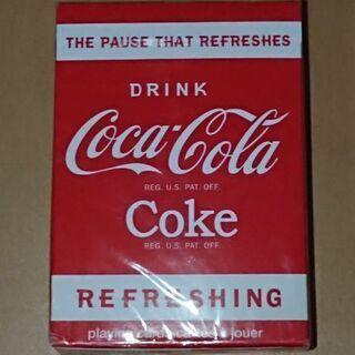 未開封 コカ・コーラ トランプ